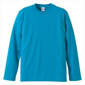 UnitedAthle(ユナイテッドアスレ) 5.6オンスロングスリーブTシャツ(アダルト) ターコイズブルー