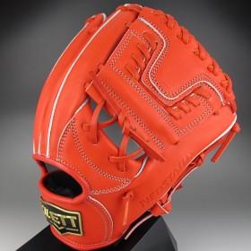 ZETT ネオステイタス 一般硬式 二塁手・遊撃手用 BPGB12440 5800:ディープオレンジ 右投げ(LH)