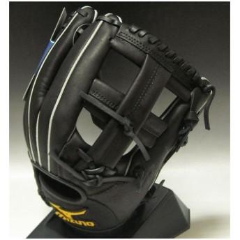 一般軟式 荒木モデル ミズノ プロフェッショナル 内野手用 2GN30303 09:ブラック 右投げ サイズ:8