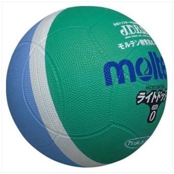モルテン(Molten) ライトドッジボール軽量0号球緑×サックス