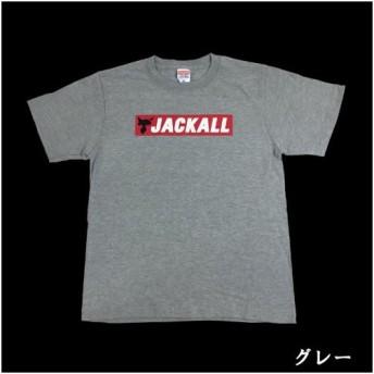 ジャッカル オリジナルTシャツ TYPE3 M〜XL グレー (シャツ)