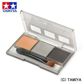 TAMIYA タミヤメイクアップ材 タミヤ ウェザリングマスター (カーモデル シャーシ用)