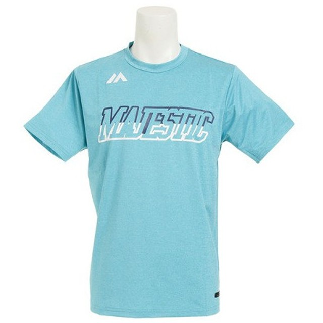 MAJESTIC Authentic Tech Branding 半袖Tシャツ type-2 XM01-MIN5-MAJ-0008 (Men's)