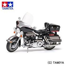 タミヤ TAMIYA 1/6 オートバイシリーズ No.37 ハーレーダビッドソン FLH クラシック ブラックバージョン 1/6 HARLEY-DAVIDSON FLH CLASSIC BLACK VERSION