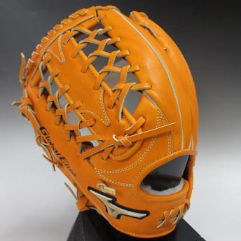 ミズノ 一般硬式外野手用左投げ グローバルエリート 1AJGH11207(54H)オレンジ