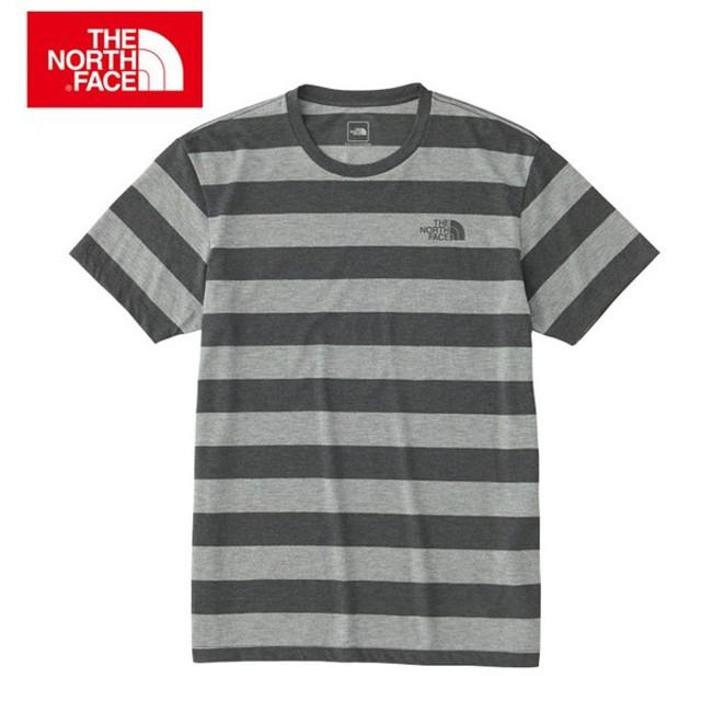 e2ce0c669f151 ノースフェイス THE NORTH FACE Tシャツ 半袖 メンズ S/S Color Heathered Border Tee