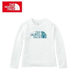 ノースフェイス Tシャツ 長袖 レディース L/S GTD Logo Crew ロングスリーブ GTD ロゴ クルー NTW11784 THE NORTH FACE od