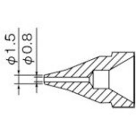 白光 SS型 ノズル/0.8mm (1個) 品番:N61-02