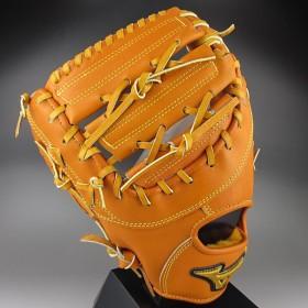 ミズノ MIZUNO 一般硬式一塁手用 ミット 左投げ ミズノプロ スピードドライブテクノロジー 1AJFH12100(54H)オレンジ