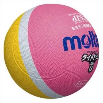モルテン(Molten) ライトドッジボール軽量0号球 ピンク×黄