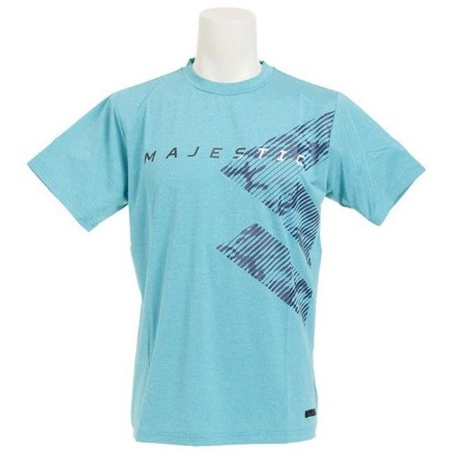 MAJESTIC Authentic Tech Branding 半袖Tシャツ type-1 XM01-MIN5-MAJ-0007 (Men's)