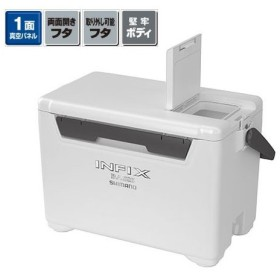 タックルバッグ シマノ UI-027Q インフィクス ベイシス 270 27L ホワイト