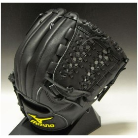 2011年モデル 一般軟式 井端モデル ミズノ プロモデル 内野手用 2GN31530 09:ブラック 右投げ サイズ:8