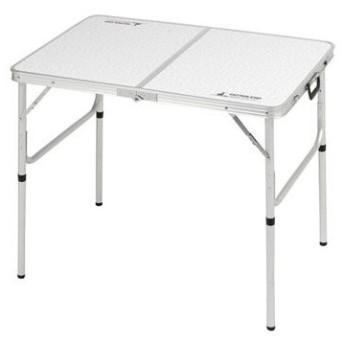アウトドアテーブル キャプテンスタッグ ラフォーレ アルミツーウェイテーブル(アジャスター付) S 60×90cm