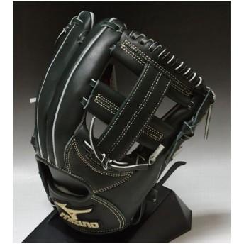 2012年展示会限定モデル ミズノ グローバルエリート 一般軟式 内野手用E2 2GN35253 Iブラック:093: 右投げ