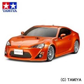 タミヤ TAMIYA 1/10 電動RCカー No.529 トヨタ 86 (TT-01シャーシ TYPE-E) 1/10 RC TOYOTA 86 (TT-01 TYPE-E CHASSIS)