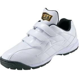 ゼット ZETT トレーニングシューズ ラフィエット(限定品) [サイズ:27.5cm] [カラー:ホワイト×ホワイト] #BSR8017G-1111