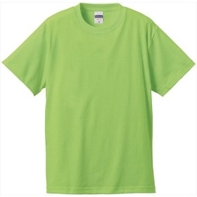 UnitedAthle(ユナイテッドアスレ) 6.2オンスTシャツ(アダルト)カラー ライムグリーン