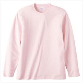 UnitedAthle(ユナイテッドアスレ) 5.6オンスロングスリーブTシャツ(アダルト) ベビーピンク