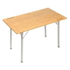 アウトドアテーブル キャプテンスタッグ アルバーロ 竹製フォールディングテーブル