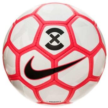 ナイキ NIKE プレミア X フットサルボール [サイズ:PRO] [カラー:ホワイト×ブライトクリムゾン] #SC3092-100