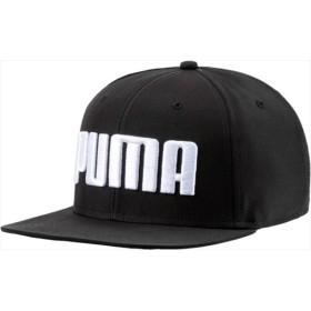 PUMA(プーマ) プーマ フラットブリム キャップ 01PUMABLACK