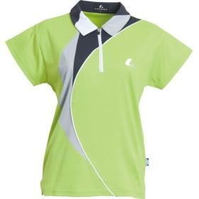 ルーセント Ladies ゲームシャツ SWC-XLP4505 レディース (LM)ライム×ガンメタ