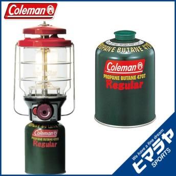 コールマン ガスランタン 2500ノーススターLPガスランタン レッド +純正LPガス燃料 2000015521+5103A470T od