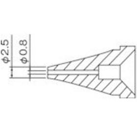 白光 ノズル/0.8mm (1本) 品番:N60-01