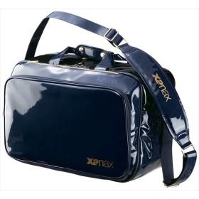 ザナックス XANAX BA-G801 エナメルセカンドバッグXL 野球 バッグ ネイビーXブラック