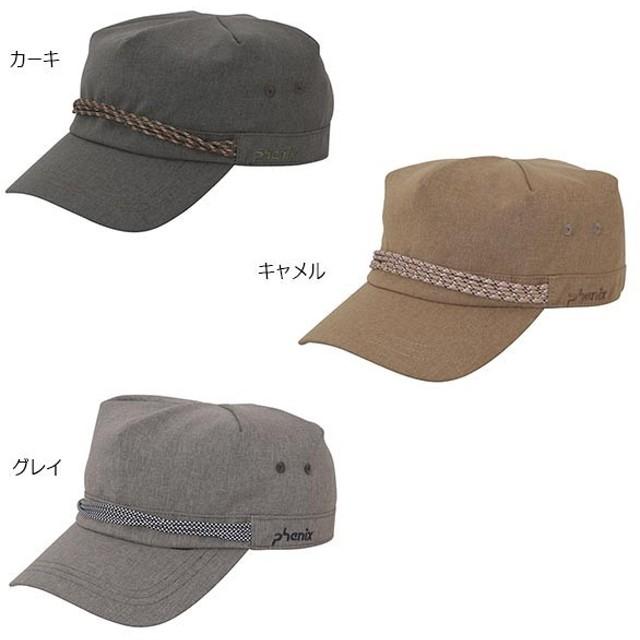 フェニックス メンズ セイル ワークキャップ Seil Work Cap 帽子 アウトドア 登山 トレッキング 紫外線対策 日よけ 熱中症対策 UVカット PH818HW34
