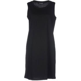 《セール開催中》TWINSET レディース ミニワンピース&ドレス ブラック 44 100% コットン