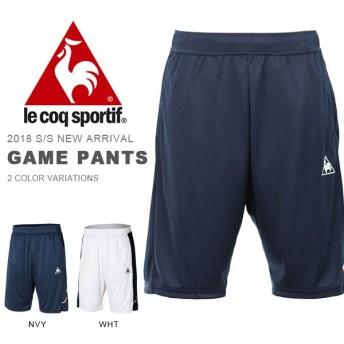 ルコック le coq sportif ゲームパンツ メンズ レディース ハーフパンツ 短パン ショートパンツ ショーツ テニス ウェア 得割21 QTULJD30ZZ