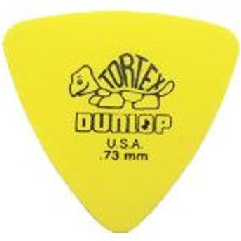 Jim Dunlop / TORTEX Triangle Pick 431R 0.73mm Yellow 【新宿店】