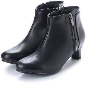 バニティービューティー VANITY BEAUTY サイドジップデザインブーツ (ブラック)