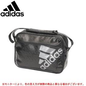 adidas(アディダス)FB エナメルバッグ X(BVD68)エナメルバッグ ショルダーバッグ かばん 通学 部活