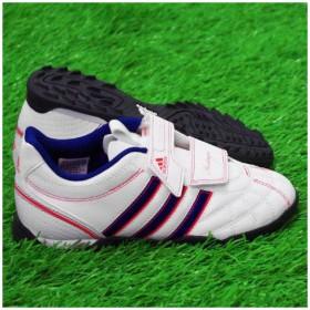 ヘリタジオ TF J V ランニングホワイト×ダークブルーF12 【adidas|アディダス】サッカージュニアトレーニングシューズg60041