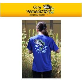 ●ゲーリーヤマモト ドライTシャツ (コバルトブルー) 【メール便配送可】 【まとめ送料割】