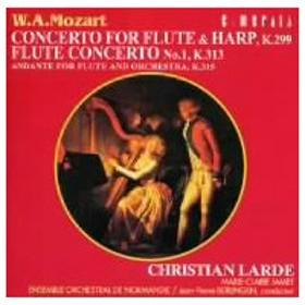 ラルデ/ジャメ/モーツァルト:フルートとハープのための協奏曲