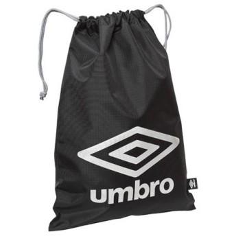 ベーシックマルチパック M ブラック×シルバー 【UMBRO|アンブロ】サッカーフットサルバックujs1445-bksl