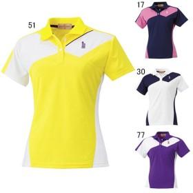 ゴーセン テニス ユニホーム ゲームシャツ レディース ゲームシャツ GOSEN T1503