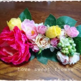 世界に1つだけ 華やかflowerボード