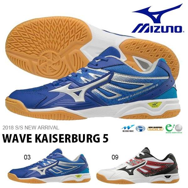 Mizuno Japan Men/'s WAVE KAISERBURG 5 Table Tennis Ping Pong Shoes 81GA1820 Blue