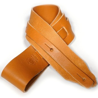 Long Hollow Leather (LHL) / Latigo Strap #73020 Tan (展示品特価)(2.5インチ幅)(レザーストラップ)【渋谷店】