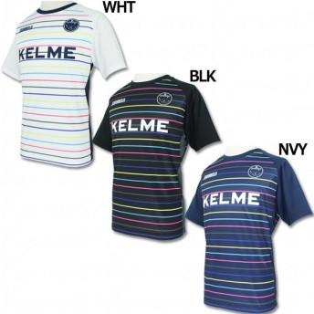KELME×JOGARBOLA ボーダープラシャツ 【KELME|ケルメ】サッカーフットサルウェアーkc61801s