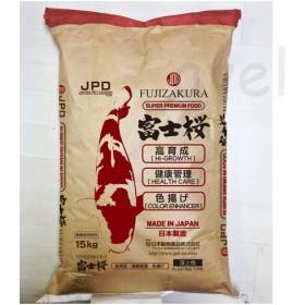 ニチドウ 日本動物薬品 富士桜 S 15kg 《トルラ酵母・耐熱性ビタミンC》【業務用 鯉 エサ】