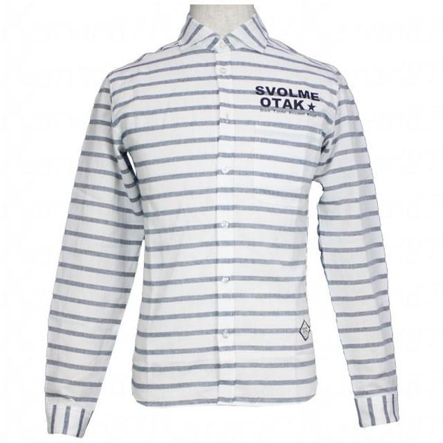 ボーダーシャツ 【SVOLME OTAK|スボルメオタク】サッカーフットサルウェアー661-03510