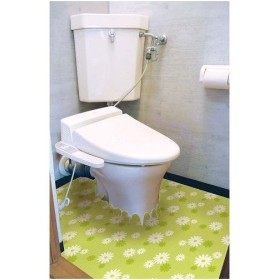 明和グラビア 吸着・防水トイレ床リフォームシート/ETU-67 グリーン