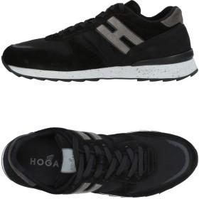 《期間限定 セール開催中》HOGAN メンズ スニーカー&テニスシューズ(ローカット) ブラック 5 紡績繊維 / 革