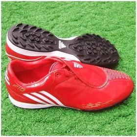 F10 i TRX TF ライトスカーレット×ランニングホワイト×メタリックゴールド 【adidas アディダス】サッカートレーニングシューズg154